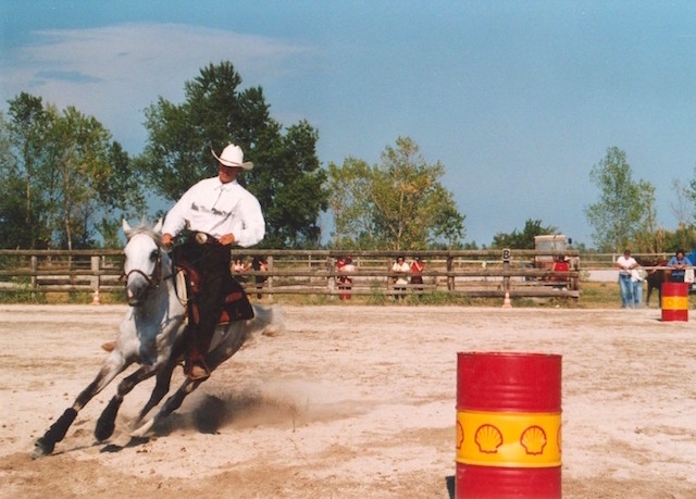 Cavalli-gara-Barrel